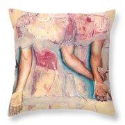 Embrace  @ Ariesartist.com Throw Pillow