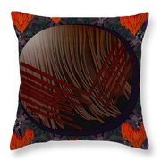 Embrace Our Earth With Love Pop Art Throw Pillow