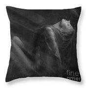 Embraced By The Light.. Throw Pillow