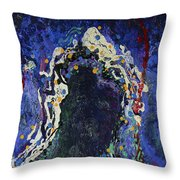 Embraced Expression Throw Pillow