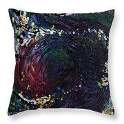 Embraced Swirl Throw Pillow