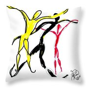 Embracing Freedom Throw Pillow