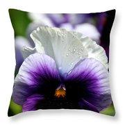 Embracing May  Throw Pillow