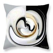 Embryo-2 Throw Pillow