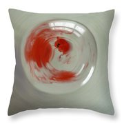 Embryogenesis #3 Of 3 Throw Pillow