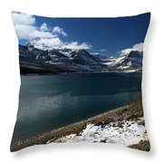 Emerald Blue Waters Throw Pillow