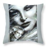 Emerald Throw Pillow