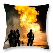 Emergency Responders Throw Pillow