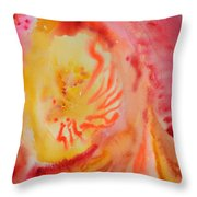 Emergent Throw Pillow