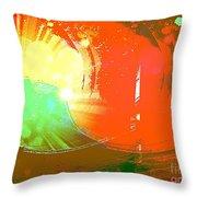 Emergent Sun Throw Pillow