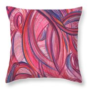 Emerges From Us Throw Pillow by Kelly K H B