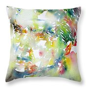 Emil Cioran Throw Pillow