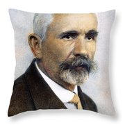 Emil Kraepelin (1856-1926) Throw Pillow