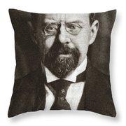 Emile Vandervelde (1866-1938) Throw Pillow
