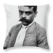 Emiliano Zapata (1879-1919) Throw Pillow