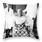 Emilio Aguinaldo (1869-1964) Throw Pillow