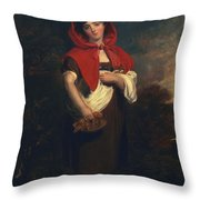 Emily Anderson Little Red Riding Hood Throw Pillow
