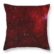 Emission Nebula IIn Perseus Throw Pillow