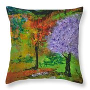 Emmet's Garden Throw Pillow