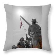 Emmitsburg 9 - 11 Memorial Throw Pillow
