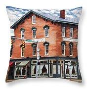 Emmitt House Corner Throw Pillow