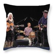 Emmylou Harris Throw Pillow
