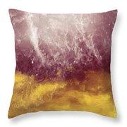 Emotional Firestorm Throw Pillow
