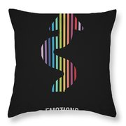 Emotions Throw Pillow by Aged Pixel