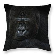 Emotive Robbery Throw Pillow