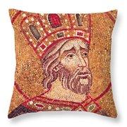 Emperor Constantine I Throw Pillow