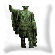 Emperor Marcus Cocceius Nerva Throw Pillow