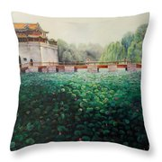 Emperor's Summer Palace Throw Pillow