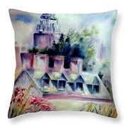 Empire State From The High Line Throw Pillow