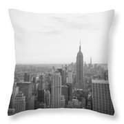 Empire State Nyc Throw Pillow