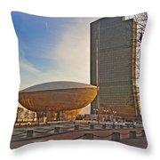 Empire State Plaza Throw Pillow