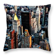 Empire View Throw Pillow