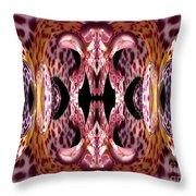 Empress Abstract Throw Pillow