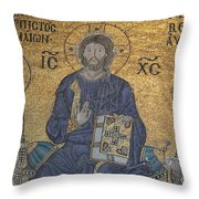 Empress Zoe Mosaic - Hagia Sophia Throw Pillow