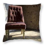 Empty Chair Throw Pillow