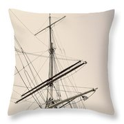 Empty Sails Throw Pillow