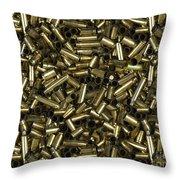 Empty Shots Throw Pillow