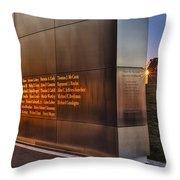Empty Sky Nj 911 Memorial  Throw Pillow