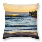 Empty Spray Throw Pillow by Tyson Kinnison