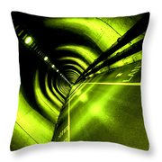 The Limelight Throw Pillow