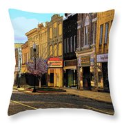 Empty Town 2 Throw Pillow