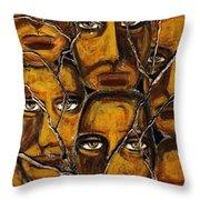 Empyreal Souls No. 5 - Study No. 1 Throw Pillow