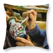 Enamelware Factory In China Throw Pillow