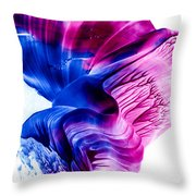 Encaustic 1836 Throw Pillow