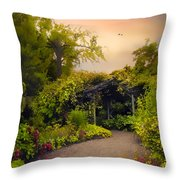 Enchanted Arbor Throw Pillow