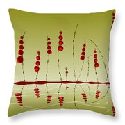 Enchanted Berries Throw Pillow